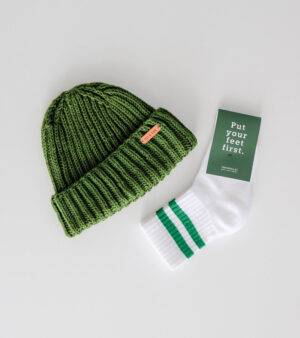 Beanies & Socks – a match made in coolness.