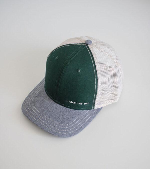 Green Mesh Cap